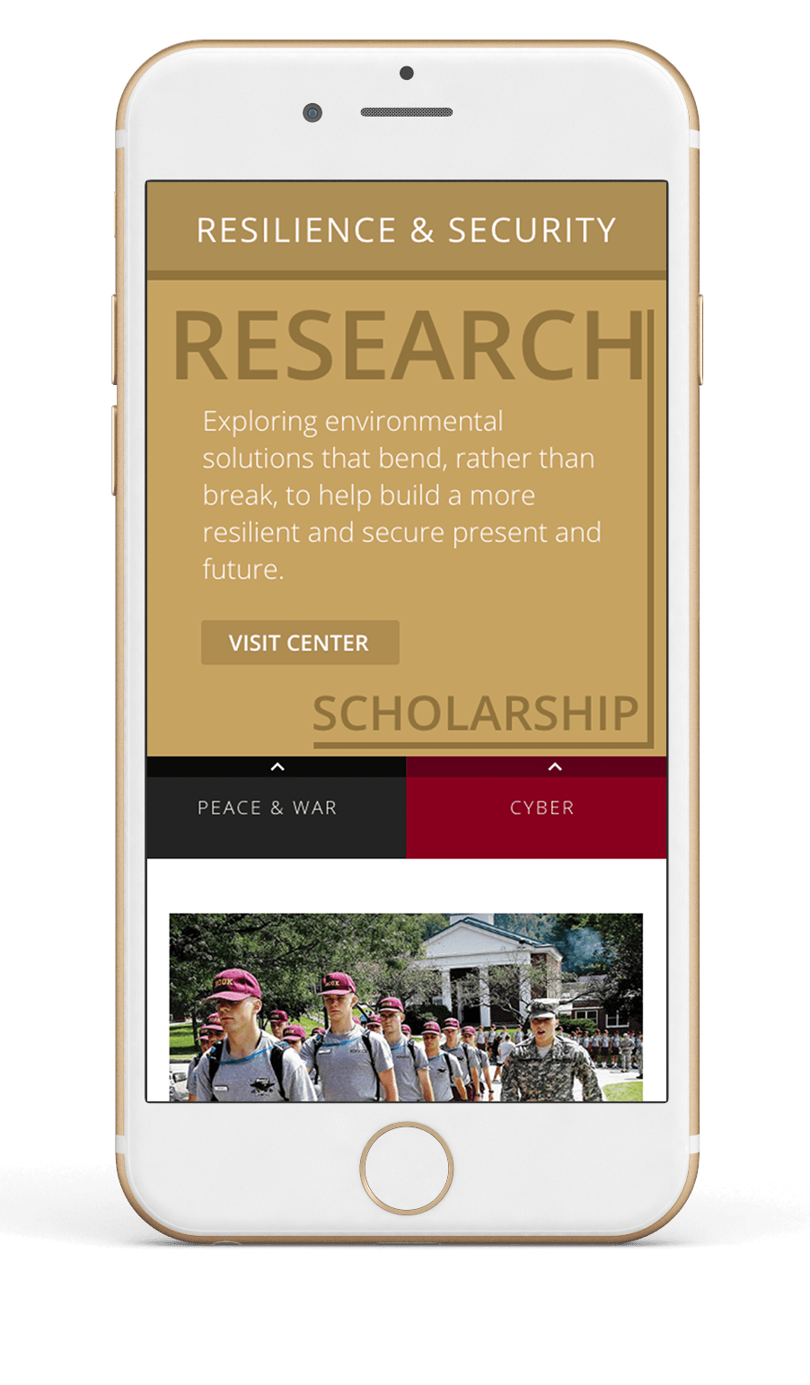 Research Centers Web Feature
